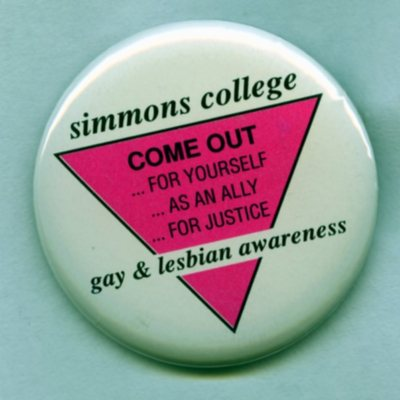 Gay and Lesbian Awareness Button (1992)